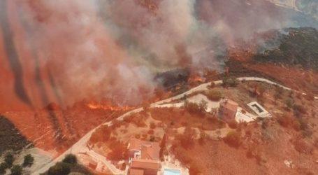 Κύπρος – Μεγάλη φωτιά στην Πάφο