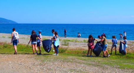 Δράσεις εθελοντικού καθαρισμού σε περιοχές του δήμου Αγιάς