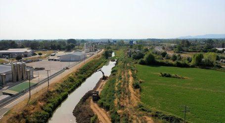 Εντυπωσιακά αντιπλημμυρικά έργα στον Πορταϊκό ποταμό από την Περιφέρεια Θεσσαλίας (video)