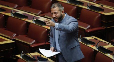 Παρέμβαση Αλ. Μεϊκόπουλου για επανένταξη δικαιούχων στα προγράμματα ρύθμισης οφειλών