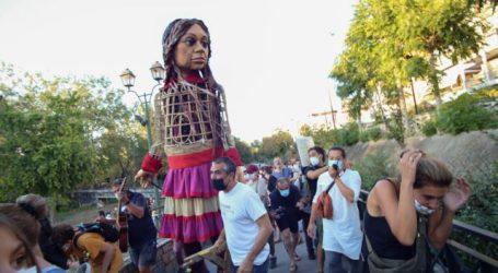 Λάρισα – «Γιατί τόσο μίσος για μία κούκλα;» – Επεισόδια κατά την άφιξη της Αμάλ