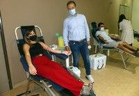 Με επιτυχία η εθελοντική αιμοδοσία στους Σοφάδες