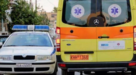 Αυτοκίνητο συγκρούστηκε με τρακτέρ έξω από τα Φάρσαλα – Στο νοσοκομείο δύο άτομα