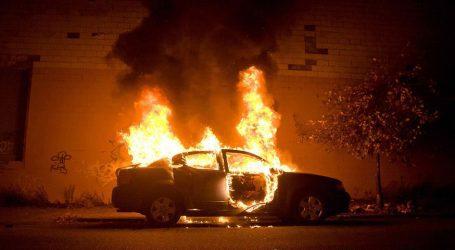 Ν. Αγχίαλος: Αυτοκίνητο τυλίχθηκε στις φλόγες