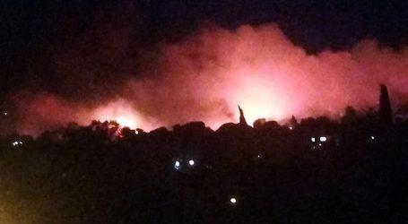 Φωτιά στη Νέα Μάκρη – Εκκενώνονται Λιβίσι και Άγιος Εφραίμ