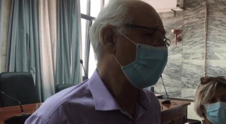 """Ο Απ. Καλογιάννης κάνει έκκληση στους Λαρισαίους να εμβολιαστούν: """"Είμαστε σε δύσκολη θέση με την αύξηση των κρουσμάτων"""""""