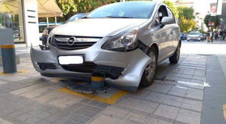 Λάρισα: Νέο περιστατικό με βυθιζόμενη μπάρα – Στον πεζόδρομο της Παπαναστασίου στο κέντρο της πόλης (φωτό)