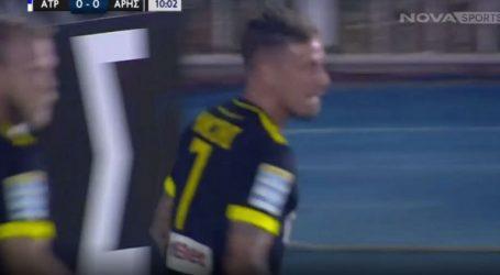 Ασίστ Σούντγκρεν, γκολ Μαντσίνι και 1-0 ο Άρης στο Περιστέρι