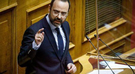Κων. Μαραβέγιας: Χωρίς ίχνος αυτοκριτικής ο πρώην Υπουργός Υγείας κ. Ξανθός στο Νοσοκομείο Βόλου