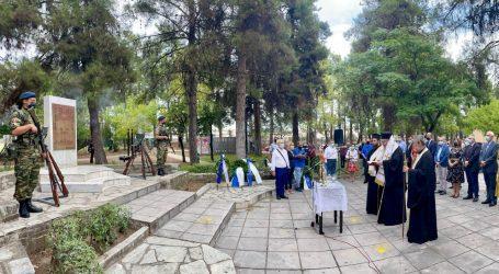 Χαρακόπουλος για τα 140 χρόνια απελευθέρωσης της Λάρισας: Με αποφασιστικότητα υπερασπιζόμαστε την εθνική μας κυριαρχία