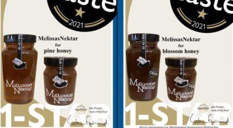 """""""Μέλισσας Νέκταρ"""": Το μέλι από τα Φάρσαλα που """"σάρωσε"""" για δεύτερη συνεχόμενη χρονιά σε διεθνή διαγωνισμό στο Λονδίνο"""
