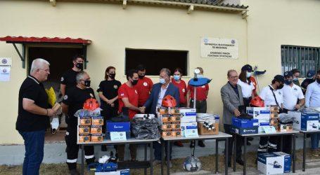 Περιφέρεια Πελοποννήσου – Τις αποθήκες Πολιτικής Προστασίας στη Μεσσηνία παρουσίασε ο Π. Νίκας