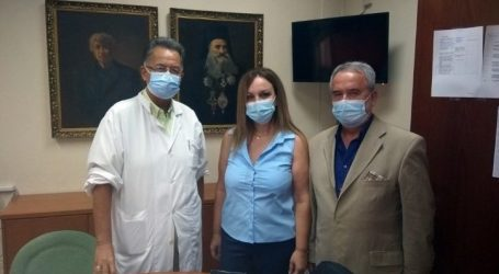 Ορκωμοσία νέας Μαιευτήρα – Γυναικολόγου στο Γενικό Νοσοκομείο Λάρισας (φωτο)