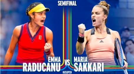 Σάκκαρη – Με Ραντουκάνου για μια θέση στον τελικό του US Open