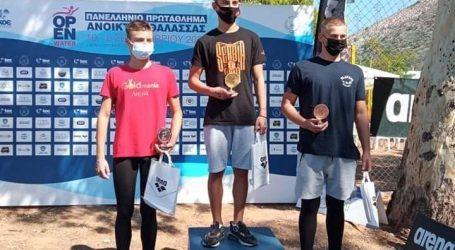 Κολύμβηση: Πρώτη θέση και χρυσό μετάλλιο για τον Λαρισαίο Γιώργο Μουστάκα