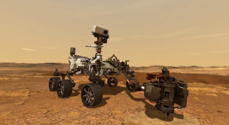 NASA – Το ρόβερ Perseverance συνέλεξε κατά τα φαινόμενα δείγμα από τα πετρώματα του Άρη