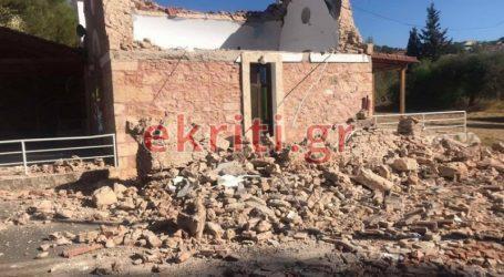 Σεισμός στην Κρήτη: Νεκρός ο εγκλωβισμένος στο Αρκαλοχώρι