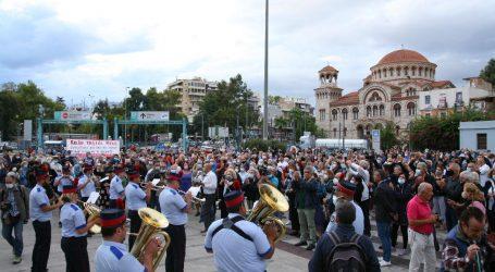 Μίκης Θεοδωράκης – Ο Δήμος Πειραιά αποχαιρέτησε τον μεγάλο μουσικοσυνθέτη με μια συγκινητική τελετή