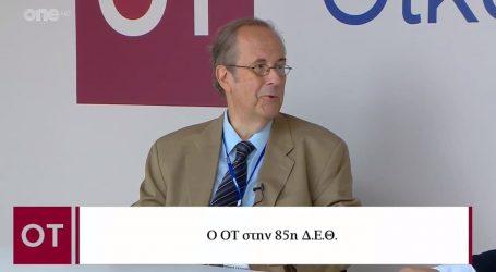 Βλαχογιάννης (ΕΒΕΘ) στον ΟΤ – Υπάρχει καλή δυναμική στην οικονομία αλλά και προβληματισμός