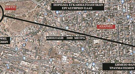 Η αδέσποτη σφαίρα «ταξίδεψε» 2 χιλιόμετρα