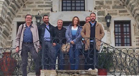 Αντιπροσωπεία του ΣΥΡΙΖΑ-Π.Σ. Μαγνησίας στις πληγείσες περιοχές στο Δήμο Ζαγοράς-Μουρεσίου