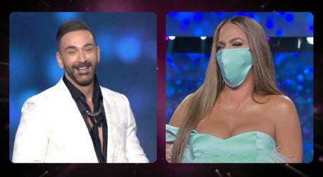J2US- Κατερίνα Στικούδη: Με μάσκα προστασίας στο J2US μετά τα κρούσματα κορωνοϊού