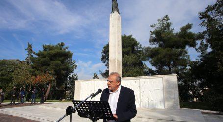 """""""Μια μέρα που όλα φάνταζαν δυνατά"""" – Η ομιλία του Δημήτρη Δεληγιάννη για την επέτειο της απελευθέρωσης της Λάρισας από τους Γερμανούς"""