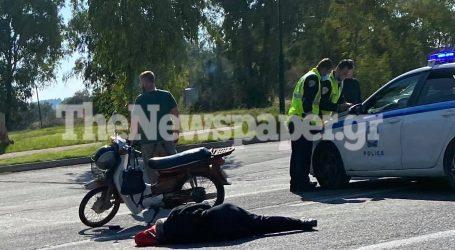 Bόλος: Σοβαρό τροχαίο στη Λεωφ. Αθηνών – Συγκρούστηκε ΙΧ με δίκυκλο [εικόνες]