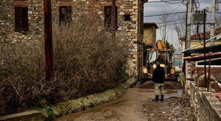 ΤΩΡΑ: Έκλεισε ο δρόμος για τη Λύρη λόγω πλημμύρας