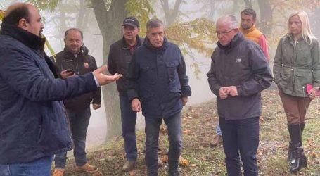 Χρ. Τριαντόπουλος: Επίσκεψη στο Πήλιο – Η πολιτεία στέκεται αρωγός στις πληγείσες περιοχές