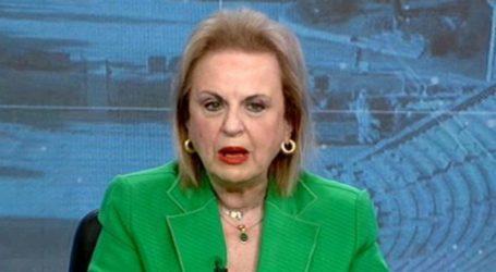 Παγώνη – Αίσθηση προκάλεσε η εμφάνισή της με πράσινο σακάκι – Τα σχόλια για  ΚΙΝΑΛ και Παπανδρέου
