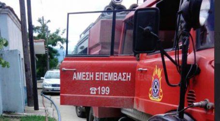 Φωτιά πήρε αυτοκίνητο στην εθνική οδό Αθηνών – Λαμίας