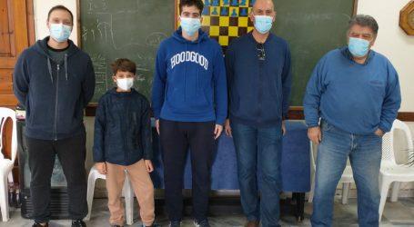 Αγώνες σκάκι στην Αγριά