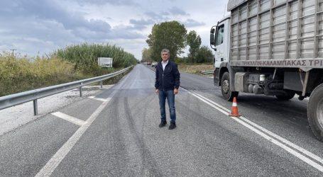 """""""Ανοίγει"""" το δρόμο Τρίκαλα-Καρδίτσα η Περιφέρεια Θεσσαλίας"""