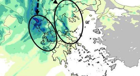 Τα μεγαλύτερα ύψη βροχής στη Μαγνησία σήμερα Κυριακή