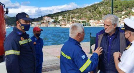 Στυλιανίδης – Αυτοψία στην Ιθάκη μετά τις καταστροφικές πλημμύρες – «Οι αποφάσεις του δημάρχου έσωσαν ζωές»
