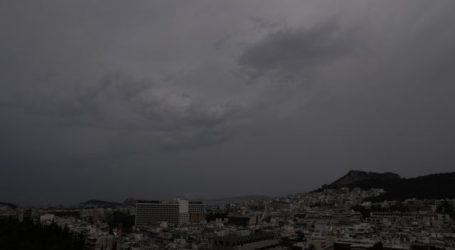 Κακοκαιρία «Αθηνά» – Επιδείνωση με βροχές, καταιγίδες και χαλάζι τις επόμενες ώρες