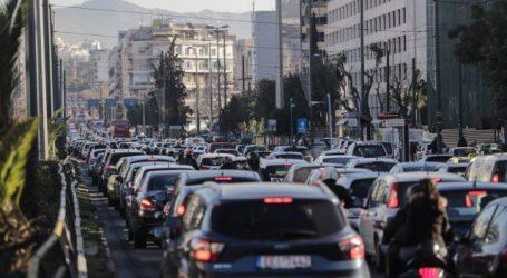 Κίνηση στους δρόμους – Κυκλοφοριακό «έμφραγμα» για ακόμη μια ημέρα – Πού εντοπίζονται προβλήματα