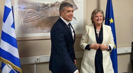 Ο Περιφερειάρχης Θεσσαλίας Κ. Αγοραστός στην Ευρωπαία Επίτροπο Elisa Ferreira:« Ευρωπαϊκή χρηματοδότηση για έργα σε περιοχές που έπληξε η κλιματική κρίση»