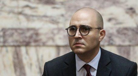 Η ΝΔ διέγραψε τον Κωνσταντίνο Μπογδάνο από την Κοινοβουλευτική Ομάδα