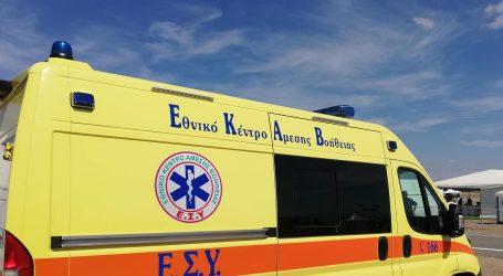 IX ανετράπη στην Εθνική Οδό Bόλου – Νεοχωρίου – Εγκλωβίστηκαν οι επιβαίνοντες