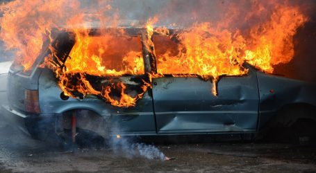 Μηλιές: ΙΧ τυλίχθηκε στις φλόγες