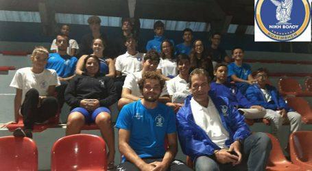 Συμμετοχή της Νίκης Βόλου στην 1η ημερίδα επιδόσεων στο κλειστό κολυμβητήριο Λάρισας