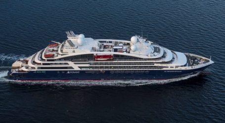 Κρουαζιερόπλοιο με 43 επιβάτες κατέπλευσε στο λιμάνι του Βόλου