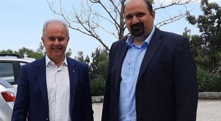 Την ανάγκη βελτίωσης των υποδομών στο Δήμο Τεμπών συζήτησαν Γ. Μανώλης και Χρ. Τριαντόπουλος