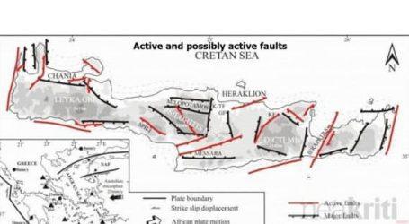 Σεισμός – Τα πιο επικίνδυνα ρήγματα της Κρήτης