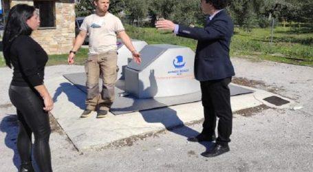Αργύρης Κοπάνας: «Υπόγειοι κάδοι στις Ενότητες – παραδόθηκαν προς χρήση»