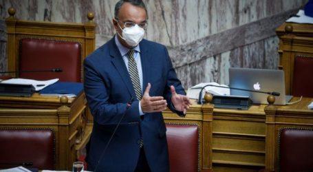 Σταϊκούρας – Ενισχύεται το πλέγμα μέτρων για νοικοκυριά και επιχειρήσεις που πλήττει η πανδημία